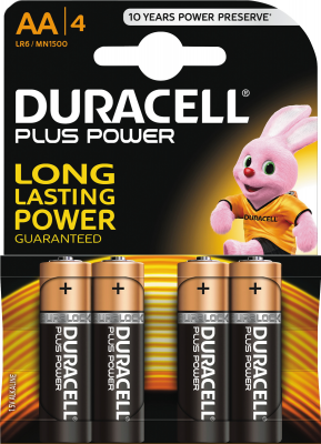 Image of Duracell - Power Plus AA batteri - 4 stk